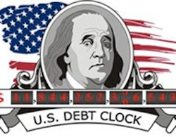 A Comprehensive U.S. Debt Clock A comprehensive debt clock tracking all of the debt and breaking it down into discrete factors.